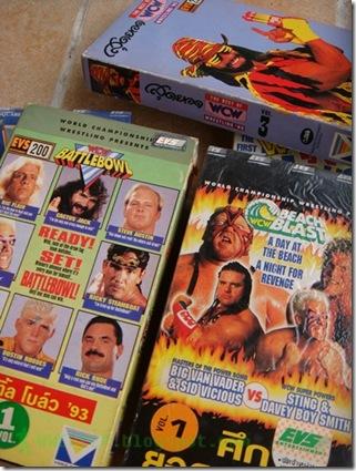 VDO VHS WWF WCW WWE 18.1