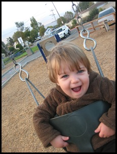 Swinging with a smile