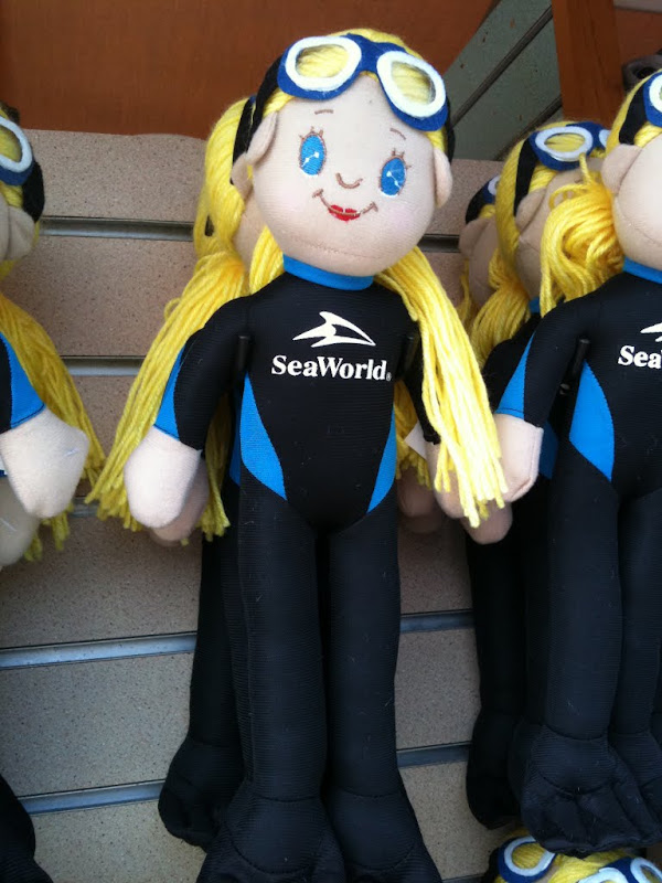 Me as a doll for Sea World