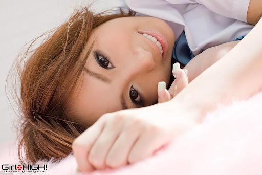 [GirlzHigh!] 正統派女子高生?南瑞彩