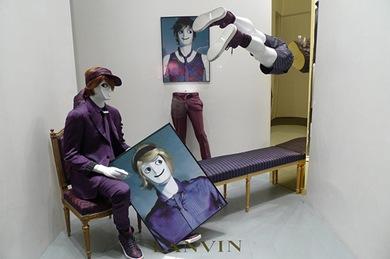 Vitrines de Paris em junho 2010 - Lanvin 2