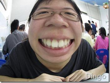 I has nice tooth