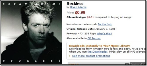 Brian Adams Reckless