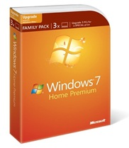 Window 7 Family Pack