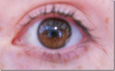 bare eye