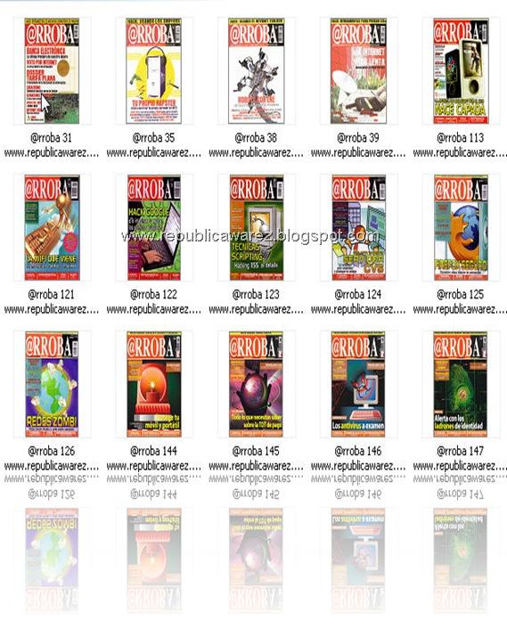 Home » libros - manuales » Revista @rroba Colección
