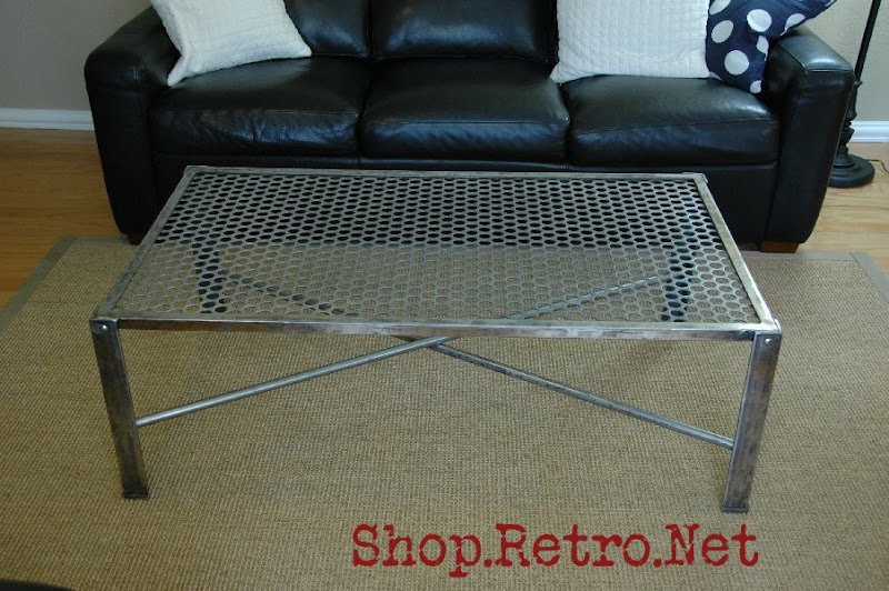 Industrial Metal Coffee Table For Sale Furniture Vintageaz Blogspot Com
