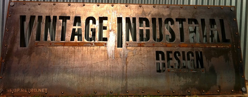 vintage retail sign