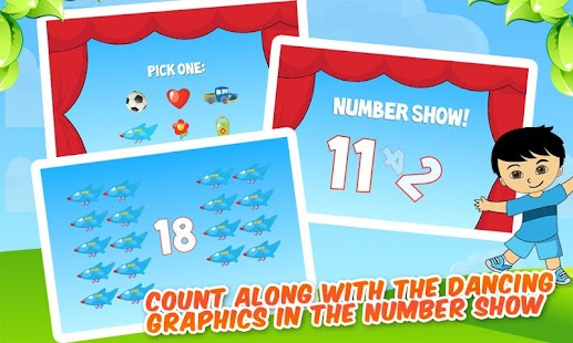 Counting & Tracing Numbers - screenshot