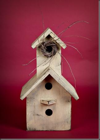 giveaway birdhouse