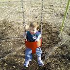 Kaden swinging - Nexus One continuous shoot