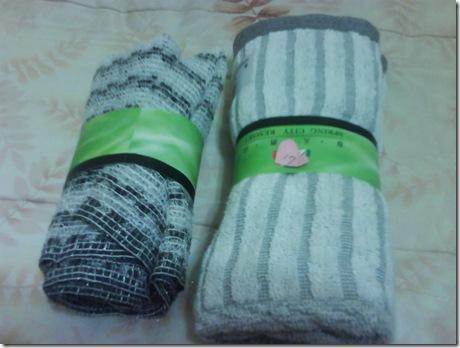 21.健康的竹炭毛巾