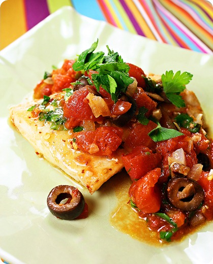Red Snapper with Tomato Sauce 2