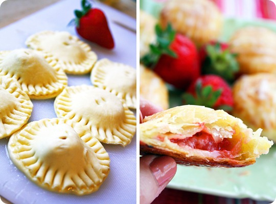 Fruit Filled Puff Pastry