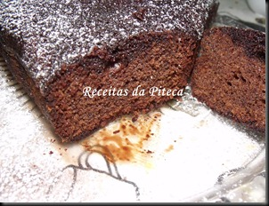 Bolo de chocolate húmido- fatia1