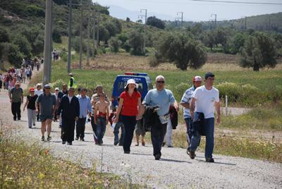 11. Geleneksel Akdeniz'den Ege'ye Dostluk ve Do?a Y?r?y??? ( 2 May?s 2010 )