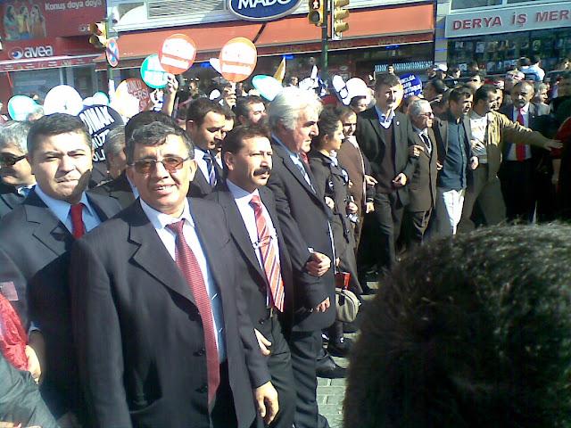 'Kurucu üyemiz Murat Yıldırım Ayrımcılığa Karşı Eşit Yurttaşlık Hakkı' mitinginde buluştu.