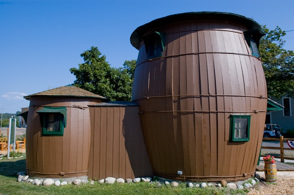 Pickle Barrel House (Grand Marais, Michigan, Estados Unidos)