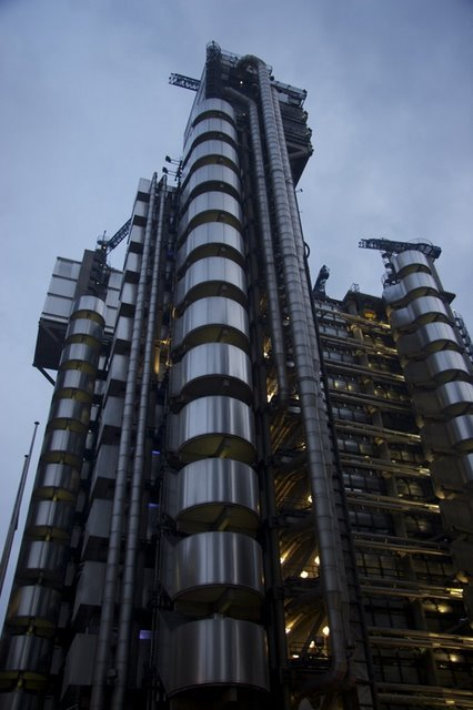 Lloyds building (London, UK)