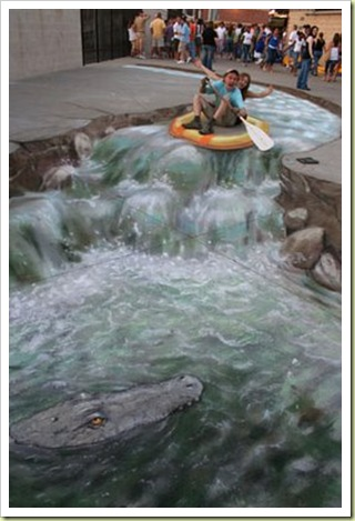 13-amazing-3d-sidewalk-art-boat