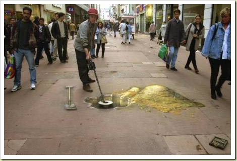 22-amazing-3d-sidewalk-art-gold3