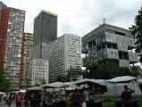 Le centre et ses buildings
