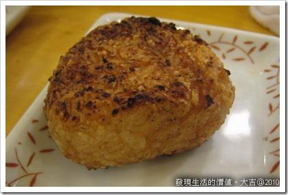 大吉-烤飯糰