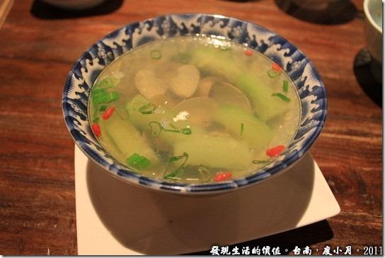 度小月絲,瓜蛤蜊養生湯