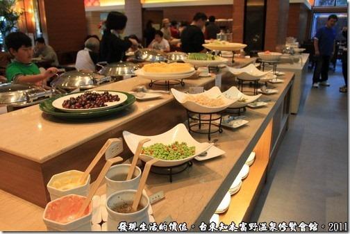 知本富野溫泉休閒會館,飯店的自助早餐。