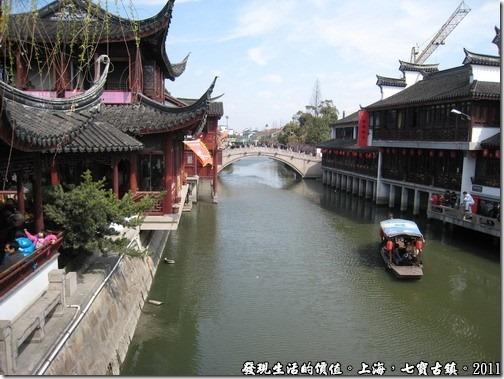 上海七寶古鎮水巷弄道