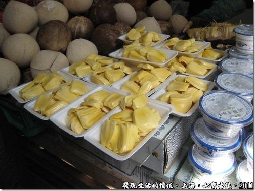 上海七寶古鎮,這是「波羅蜜」吧!
