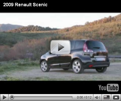 Vídeos-Renault Scénic e Grand Scénic