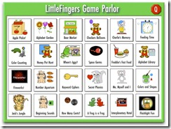 Little fingers game parlor