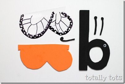 butterfly alphabet craft