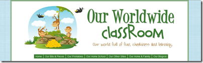 our worldwide classroom header
