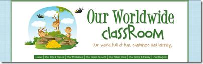 our worldwide classroom header