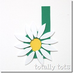 d is for daisy craft