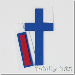 t is for toothbrush craft