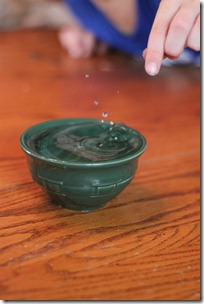 water cohesion experiment