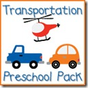 Transportation Preschool Pack Button copy