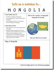 Mongolia example