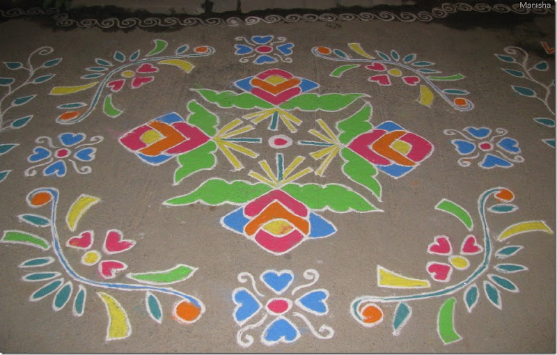 Rangoli Designs Hyderabad