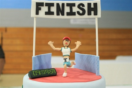 Triathlon Cake: Finisher7