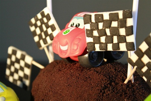 Car and Truck Cake 2