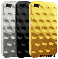 Bubble Chrome cool iPhone 4 cases by Hard Candy