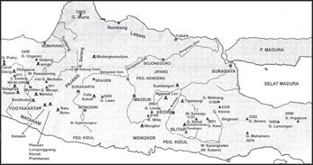 peta wilayah kerajaan mataram kuno