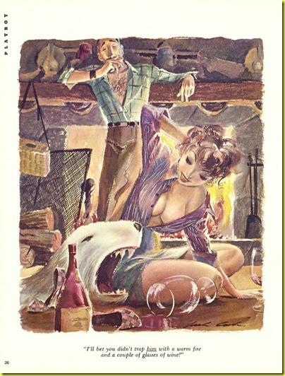 Playboy cartoon Jack Cole April 1955 a