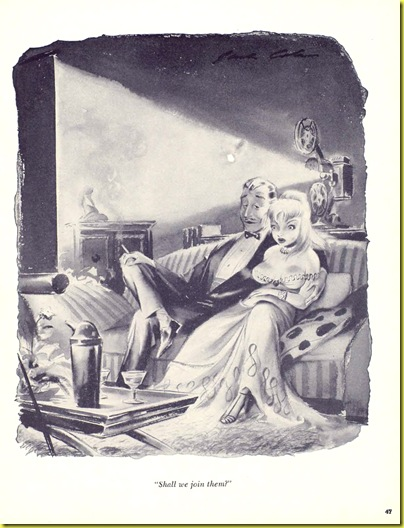 Playboy cartoon Jack Cole April 1955 b