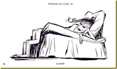 Playboy cartoon Jack Cole April 1955 d