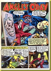 Insane painter in vintage comic book _Ken Shannon